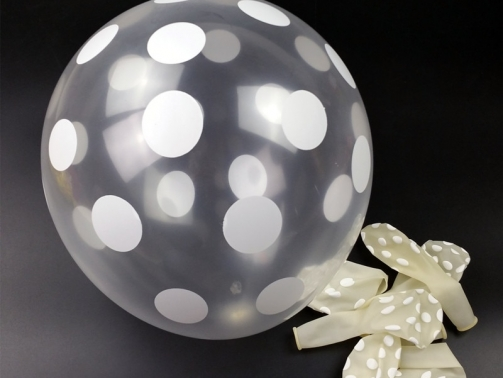 66045-12-inc-seffaf-balon-50-adet-grup-lateks-balon-karsk-renk-puantiyeler-balon-parti-dekorasyon-uecretsiz-kargo