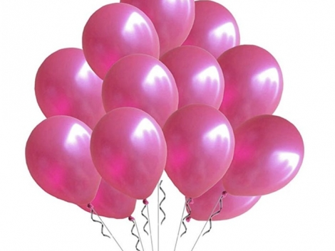fusya-metalik-baskisiz-lateks-balon---10-648d