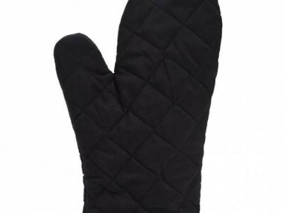 firin eldiveni siyah