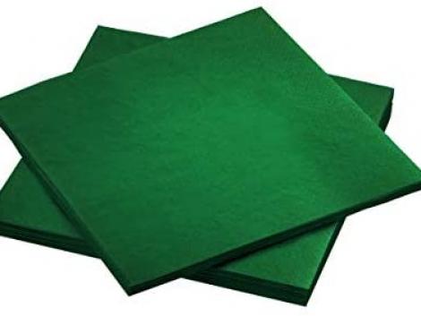 koyu yeşil peçete